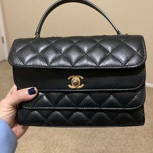 Chanel Triple flap bag